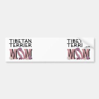 Tibetan Terrier MOM Bumper Sticker