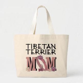 Tibetan Terrier MOM Canvas Bags