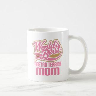 Tibetan Terrier Mom Dog Breed Gift Classic White Coffee Mug