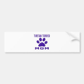 Tibetan Terrier Mom Gifts Designs Bumper Stickers
