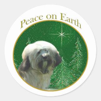 Tibetan Terrier Peace Sticker