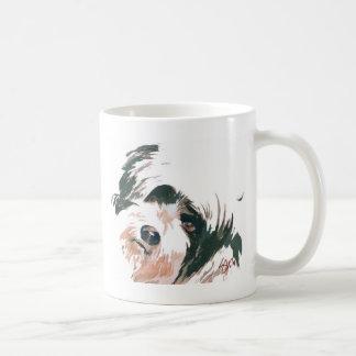 Tibetan Terrier portrait Coffee Mug