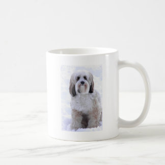 Tibetan Terrier Sable and White Coffee Mug