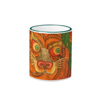 Tibetan tiger coffee mug