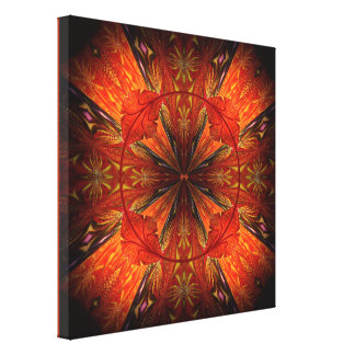 Tibetan Trumpet Vine Canvas Prints