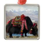 Tibetan Yak Metal Ornament