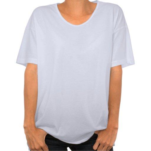 Tibetano Aum y la camiseta de gran tamaño de las m