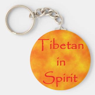 Tibetano en Alcohol-llavero Llavero Redondo Tipo Pin