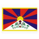 tibetflag postales