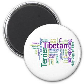Tibetian Terrier Magnet