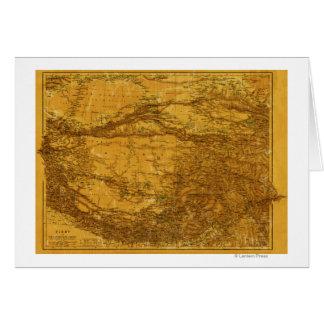 TibetPanoramic MapTibet 2 Card