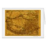 TibetPanoramic MapTibet 2 Tarjeta De Felicitación