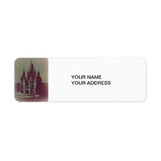 Tibidabo Barcelona Label