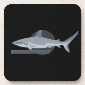 Tiburón 0316 de la piscina posavasos