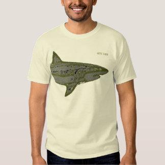 tiburón blanco, peligro poleras