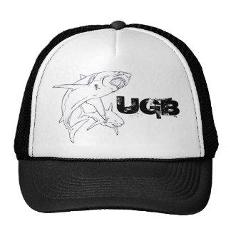 Tiburón blanco UGB Gorras