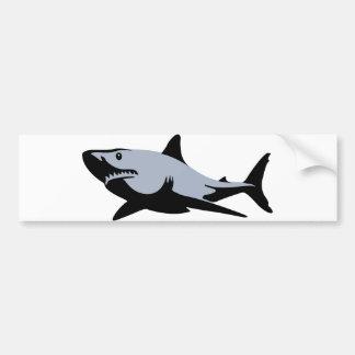 Tiburón Pegatina De Parachoque
