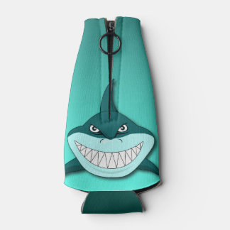 Tiburón con el fondo de la pendiente enfriador de botellas