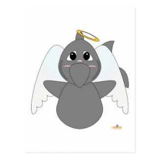 Tiburón de ángel Huggable Postales