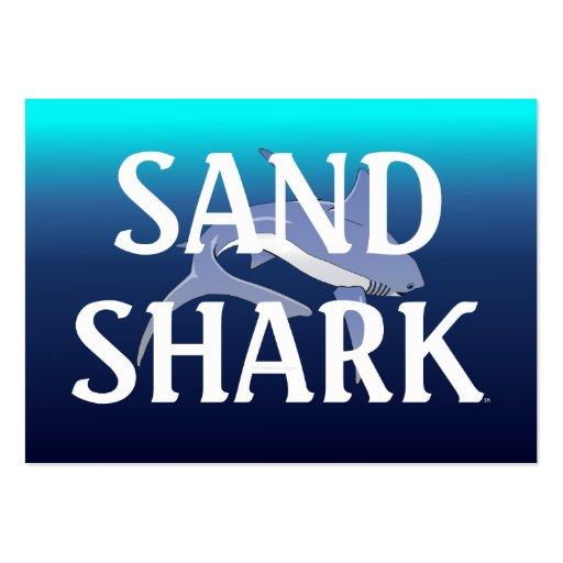 Tiburón de arena de la CAMISETA Plantillas De Tarjetas Personales