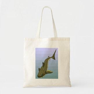 Tiburón de ballena bolsas lienzo
