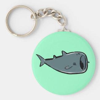 tiburón de ballena llavero redondo tipo pin
