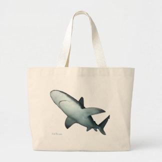 Tiburón de banco de arena bolsas