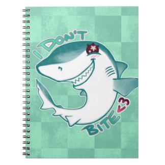 Tiburón de Chibi Libretas Espirales