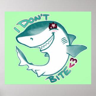 Tiburón de Chibi Posters