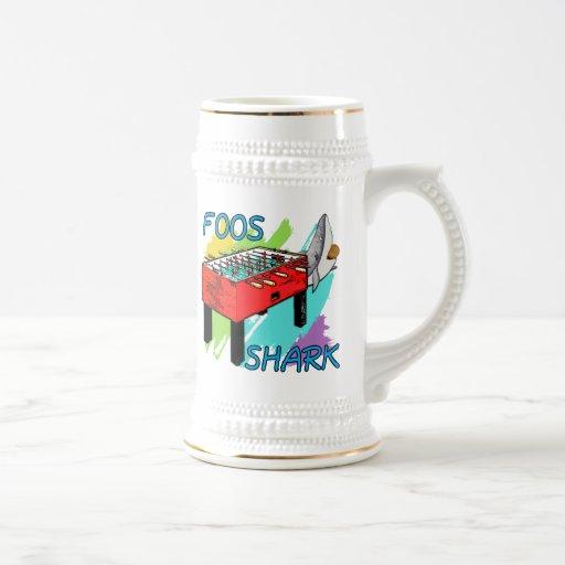 Tiburón de Foos Tazas