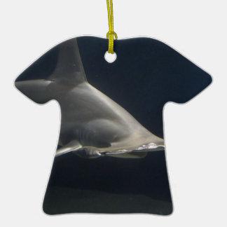 Tiburón de Hammerhead Adorno De Cerámica En Forma De Playera