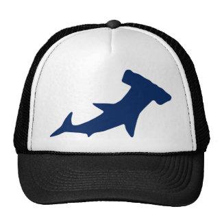 Tiburón de Hammerhead Gorros Bordados