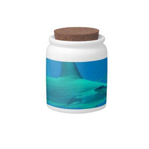 Tiburón de Hammerhead subacuático Jarras Para Caramelos