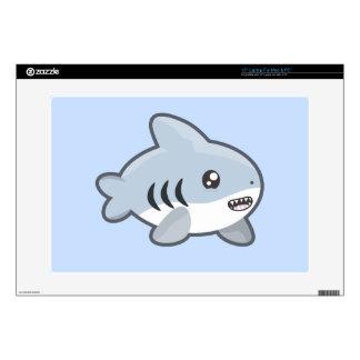 Tiburón de Kawaii Skins Para 38,1cm Portátiles
