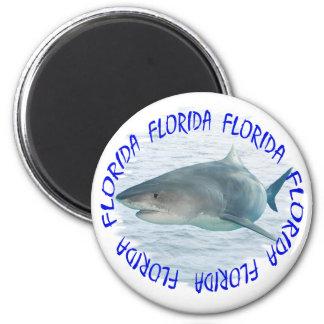 Tiburón de la Florida Imán Redondo 5 Cm