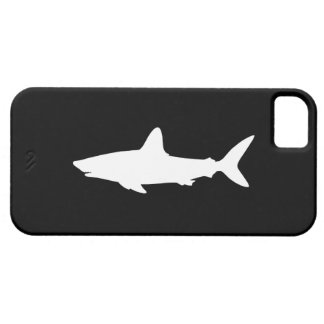 Tiburón de la natación iPhone 5 cárcasas