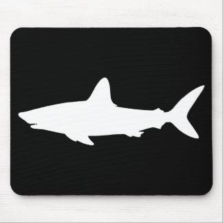 Tiburón de la natación tapetes de ratones