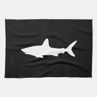 Tiburón de la natación toallas