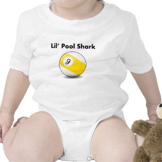 Tiburón de la piscina de Lil (bola nueve) Traje De Bebé