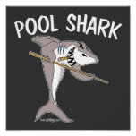 Tiburón de la piscina impresiones