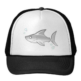 Tiburón de Snarky Gorras