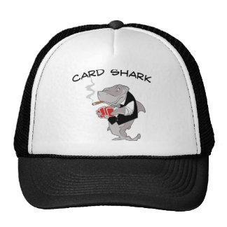 Tiburón de tarjeta gorras