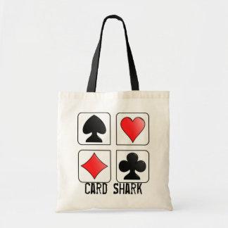 Tiburón de tarjeta, juegos del naipe