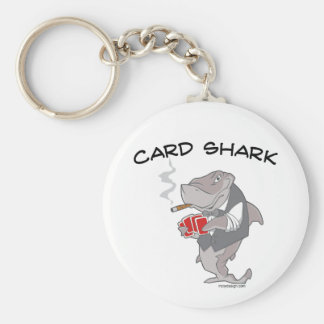 Tiburón de tarjeta llavero personalizado