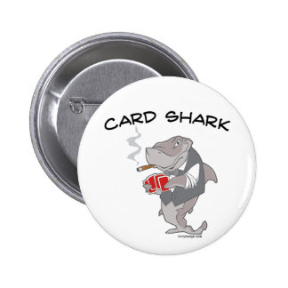 Tiburón de tarjeta pin