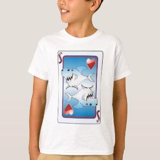 Tiburón de tarjeta playera