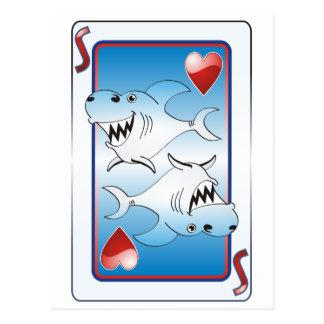 Tiburón de tarjeta postal