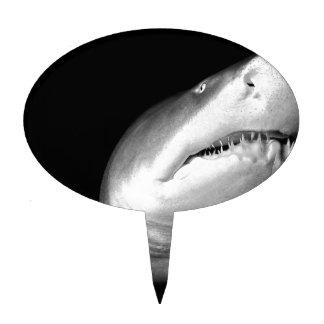 Tiburón de tigre de arena decoración para tarta