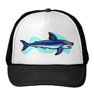 Tiburón de tigre gorros