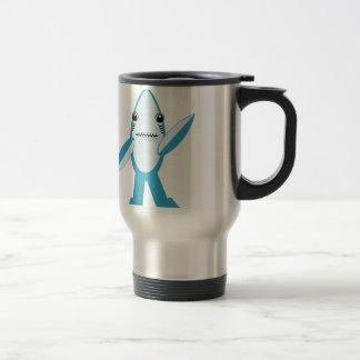 tiburón dejado #RightShark de la derecha del Tazas De Café